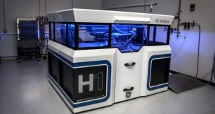GE Presents Prototype for Project H1 Metal Binder Jetting 3D Printer