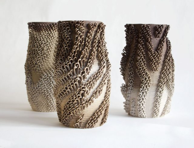 Emerging Objects Bad Ombre 2 Ceramics 3D Printing