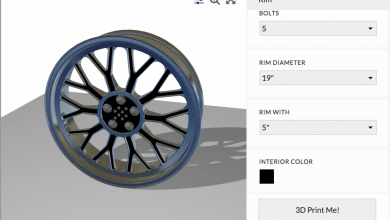 Photo of Shapediver Designer Creates Online Rim Configurator for 3D Printable Custom Rims