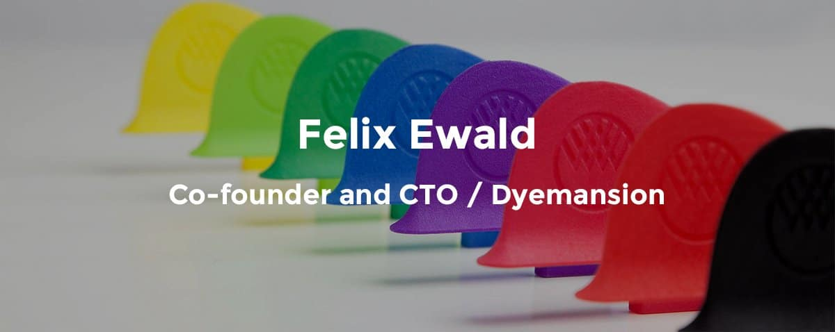 Dyemansion automation expert Felix Ewald