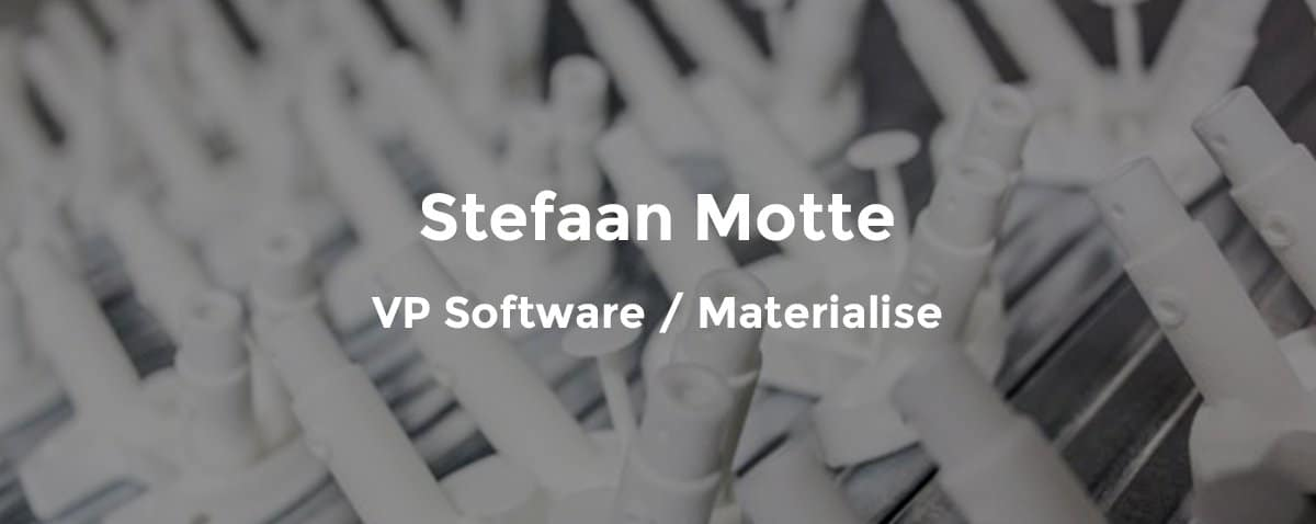 Materialise automation expert Stefaan Motte