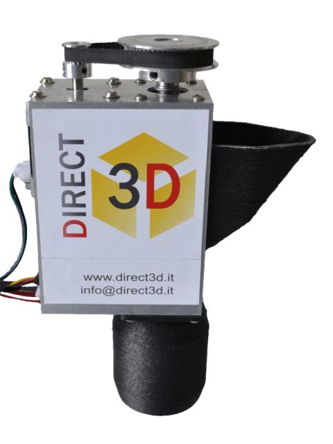 A universal pellet extruder and infinity belt system 3d printing opportunities from italy 3d - 3d printer italia ...