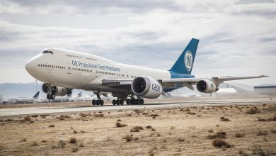 Photo of GE9X, the largest and most 3D printed jet engine ever, is flying