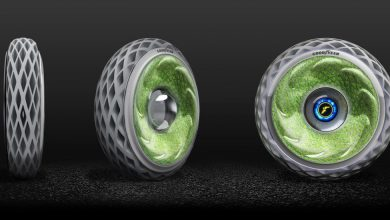 Photo of Goodyear Presents Oxygene 3D Printed Tyre Concept for Improved Air Quality