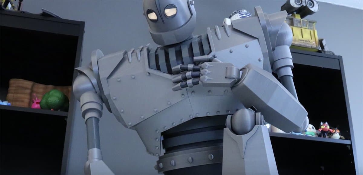 Awesome 3d Printed Iron Giant Shows Just How Far 3d