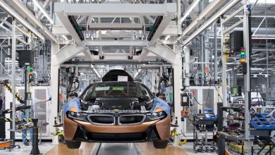 Photo of BMW starts lean series production of BMW i8 Roadster with metal 3D printed parts