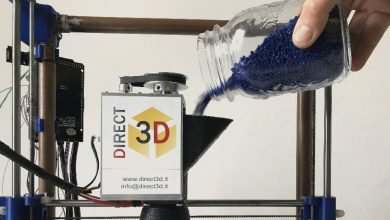 Photo of A Universal Pellet Extruder and Infinity Belt System, 3D Printing Opportunities from Italy