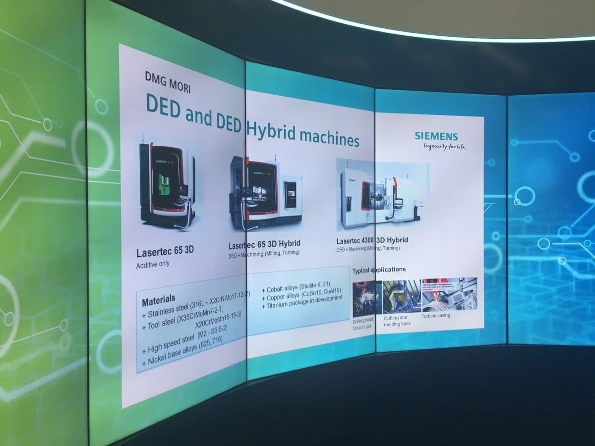 Deposition AM is the future of production in the Siemens