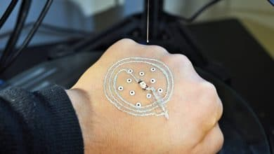 Photo of Researchers at U of M 3D Print Directly on Skin