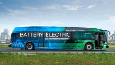 Photo of Carbon 3D Printing Parts for Proterra Battery-Electric Buses