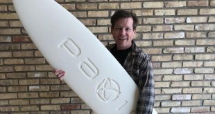 C.ideas' Paxis spinoff shows off one-part surfboard made with new WAV technology