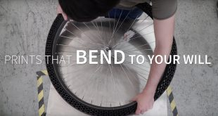 BigRep presents concept for a 3D printed airless bike tire | video