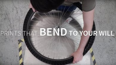 Photo of BigRep presents concept for a 3D printed airless bike tire | video