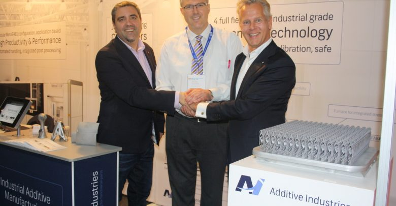 Additive Industries partnership with agent ANÁLISIS Y SIMULACIÓN