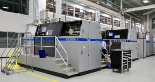 GE's Additive Technology Center in Ohio uses 90 metal 3D printers to make aircraft parts
