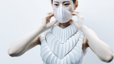 Photo of AMPHIBIO: designer develops 3D printed hydrophobic gills for humans to breathe underwater
