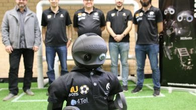 Photo of FIFA's got competition: 3D printed football-playing robots kick off RoboCup 2018