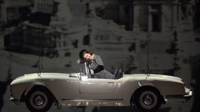 Photo of Flying, 3D printed 1960's Italian car promotes opera at La Scala in Milan