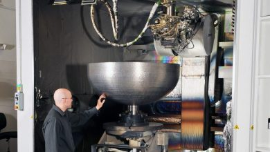 Photo of Lockheed Martin 3D print record breaking domes for satellite fuel tanks