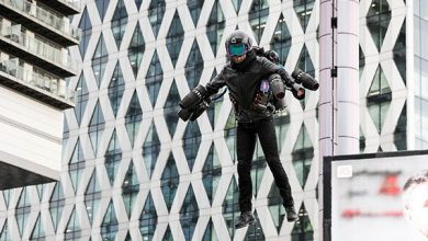 Photo of Take to the sky in this £340K 3D printed Jet Suit now sold at Selfridges