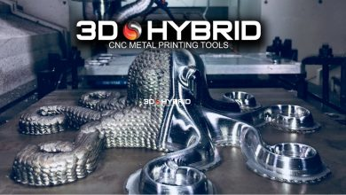 Photo of 3D-Hybrid to show new ATC automatic tool change solution at IMTS