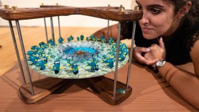 Photo of 4-Mation: amazing 3D printed zoetrope animations hit Kickstarter
