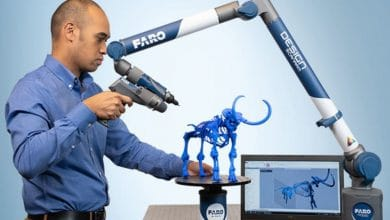 Photo of FARO reveal Design ScanArm 2.5C with high resolution full color scanning