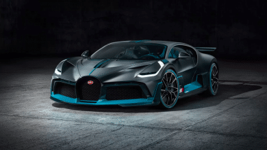 Bugatti Divo sports car