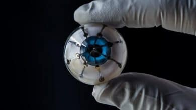 3D printed bionic eye