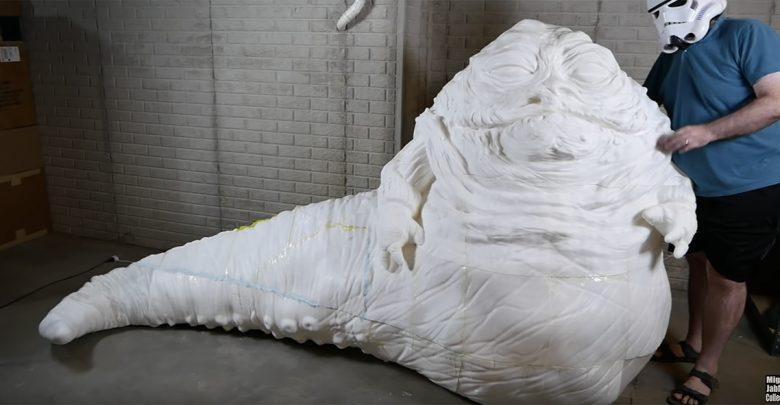 Photo of Who wouldn't want a life-size 3D printed Jabba in their living room?