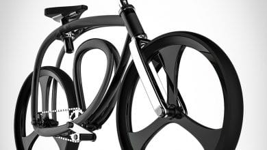 Photo of Designer conceives Continuous Loop Bicycle frame with 3D printing in mind