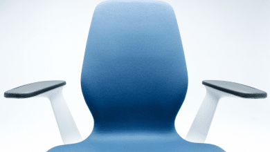 Photo of Steelcase redesigns SILQ office chair with custom 3D printed armrests