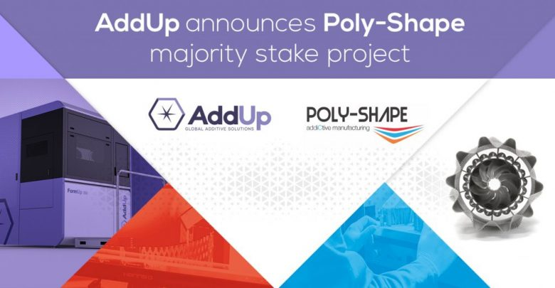 Addup Poly-Shape acquisition