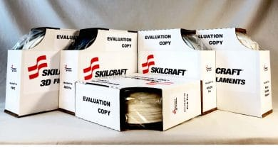 Photo of Newly launched SKILCRAFT 3D to supply U.S. government with 3D printing filaments
