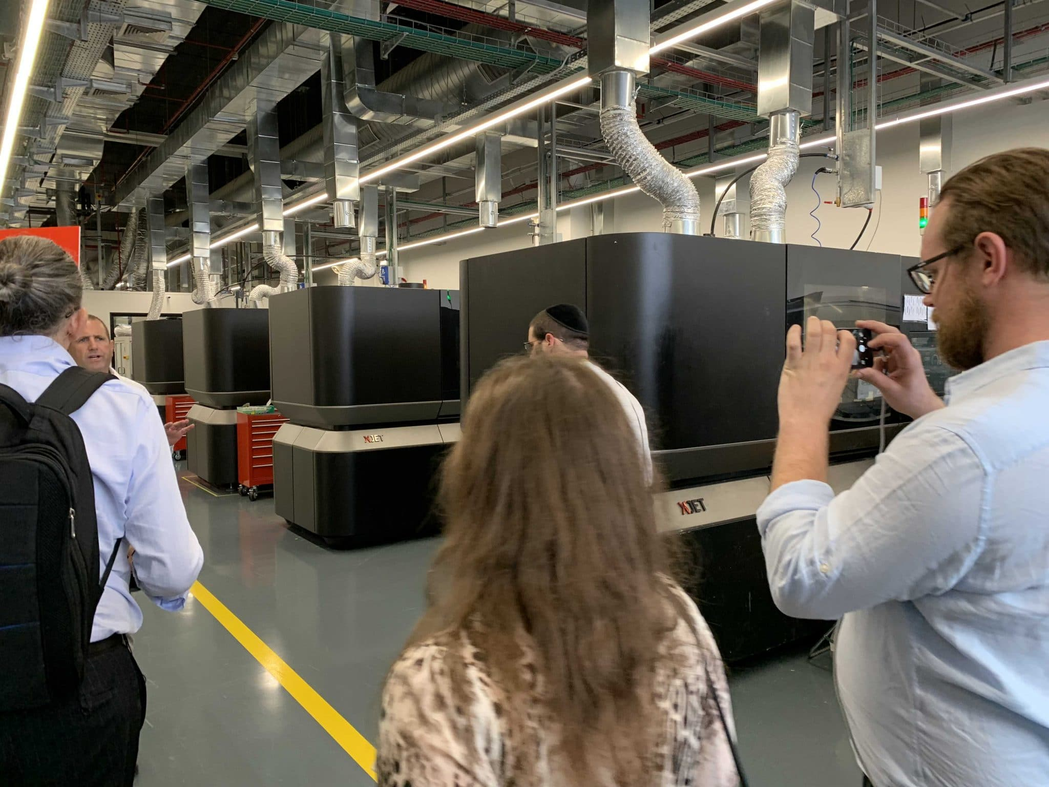 XJET Additive Manufacturing Center Rehovot