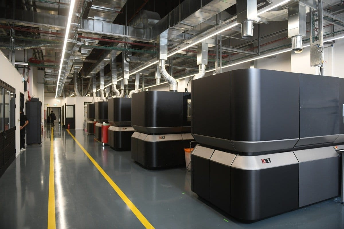 XJet Additive Manufacturing Center