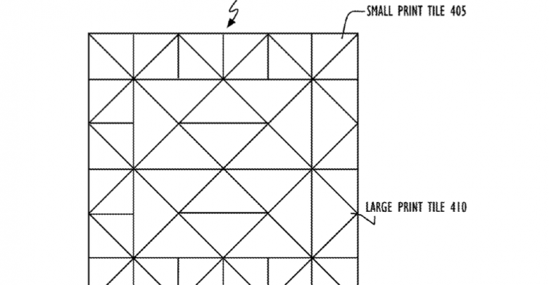 Apple secures patent for triangular tessellation 3D printing