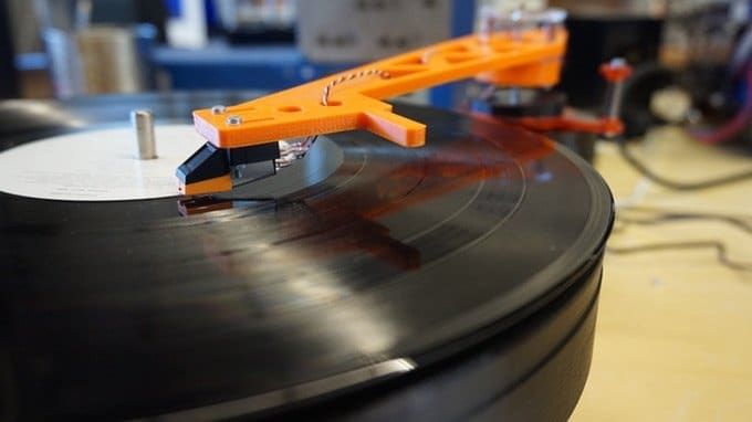 Lenco 3D printed turntable