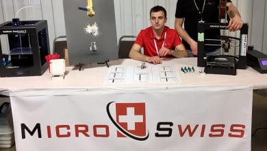 Photo of Micro Swiss signs distribution agreement with 3D Printz