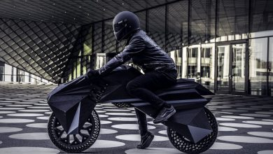Photo of The NERA: BigRep presents fully 3D printed e-motorcycle