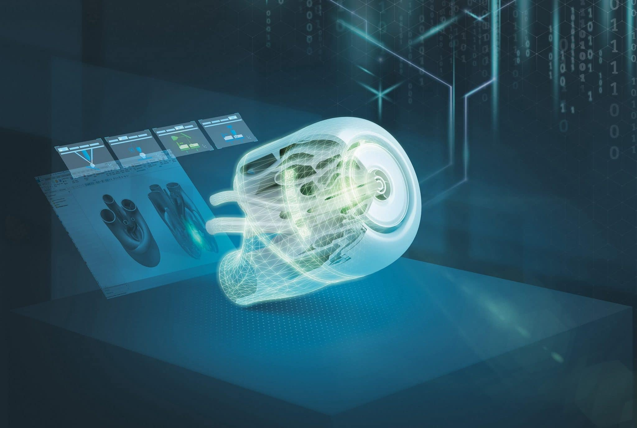 Siemens Digital Enterprise portfolio of seamless integrated solutions for additive manufacturing