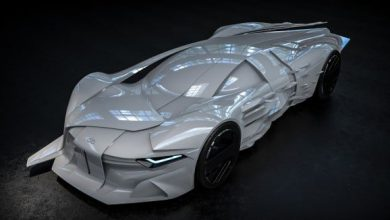 David Bowie concept car