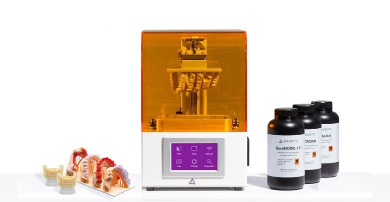 Photo of Ackuretta launches $2.5K FreeShape 120 3D printer for dental, jewelry