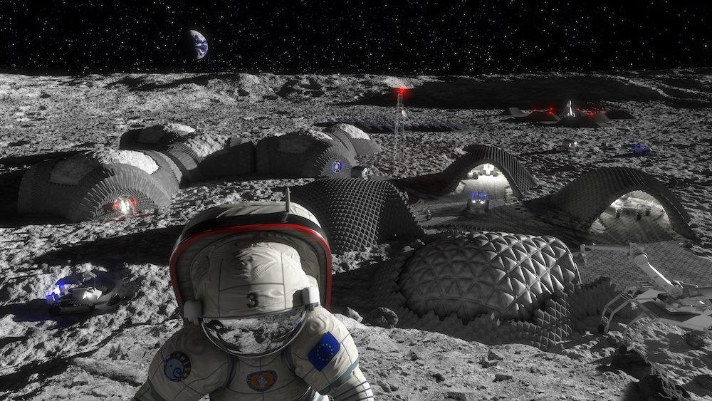 ESA launches ISRU Space Resources Competition for future systems, including AM  - Future Moon base - Space Resources Competition looks for systems, including AM » 3dpbm