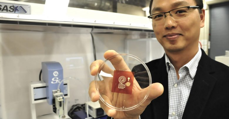 Photo of SFU targets sustainability with wood-derived 3D printed electronics