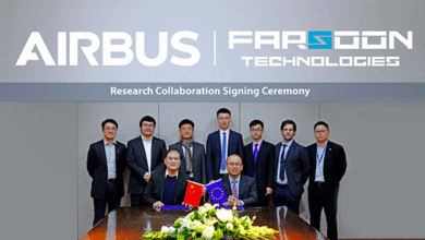 Photo of Farsoon and Airbus sign R&D collaboration for polymer 3D printing and civil aviation
