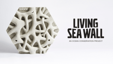 Photo of Living Seawall: Volvo promotes ocean biodiversity with 3D printing