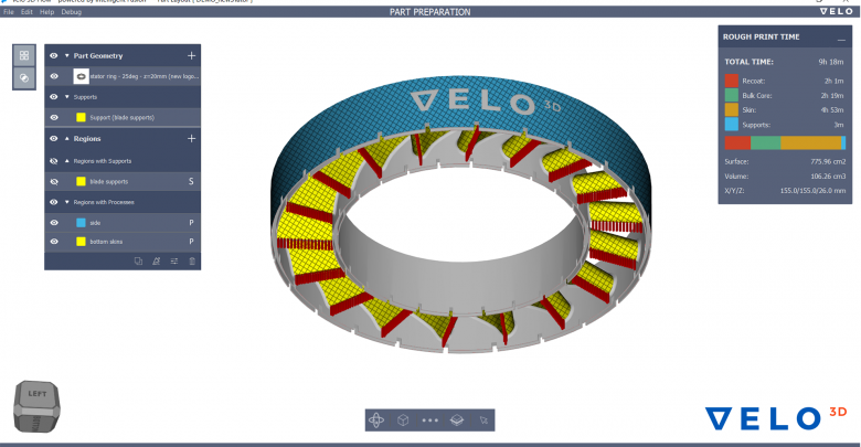VELO3D Flow software