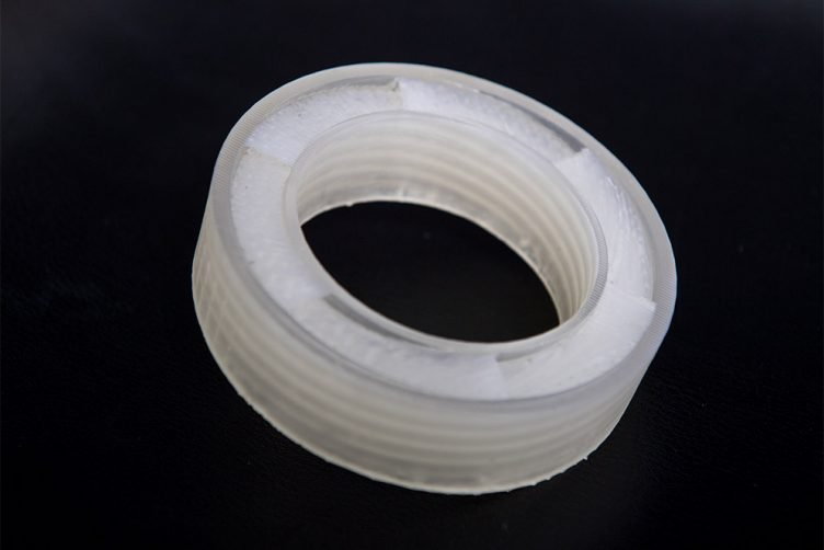 Acoustic 3D printed metamaterial sound