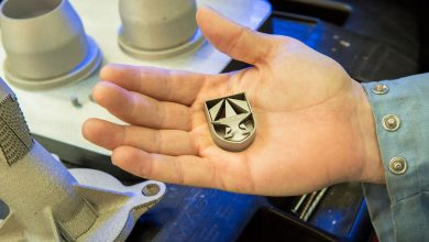 U.S. Army steel alloy 3D printing